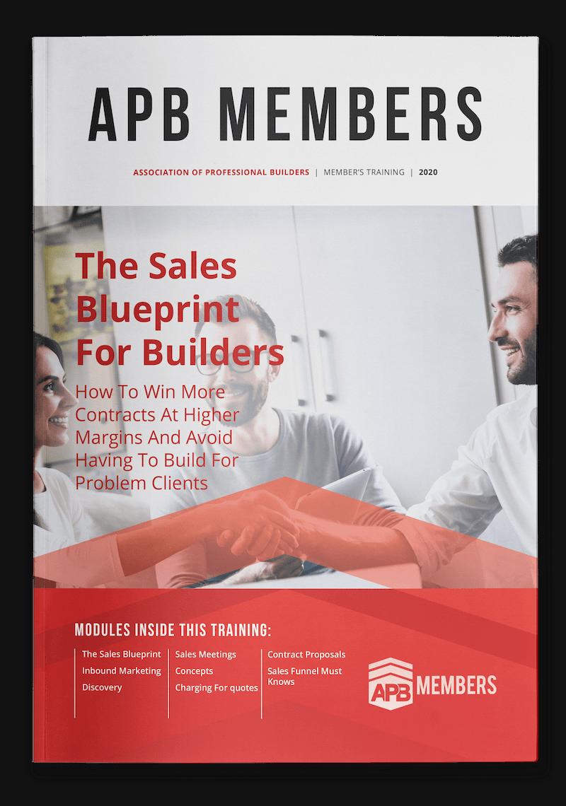 Sales Blueprint for Builders