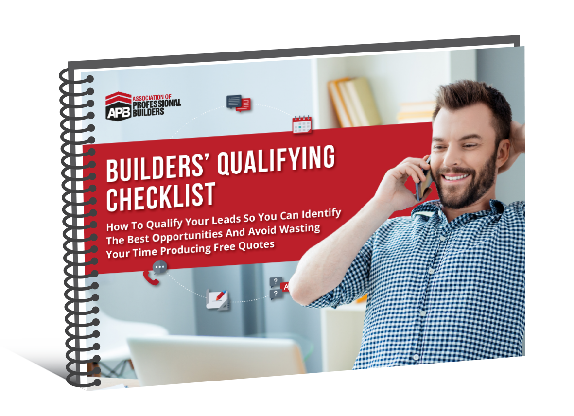 Builders Qualifying Checklist
